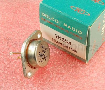 germanium power transistor 2n554 pnp germanium power transistor