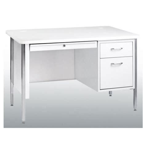 Rounded Corner Desk Sandusky Single Pedestal Rounded Corner Steel Desk 48 Quot W X 30 Quot D Sq4830 Desks