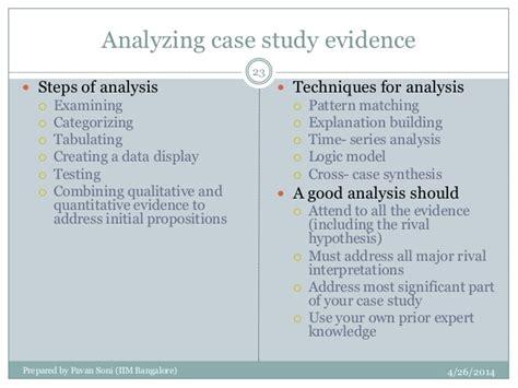 pattern matching case study case study research by robert yin 2003
