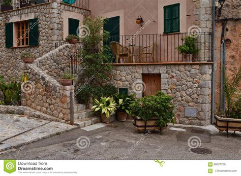 terrasse spanisch terrace stock photo image 69527769
