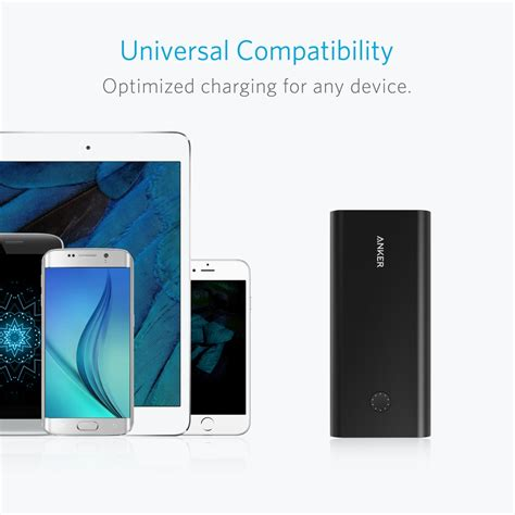 anker quick charge 3 0 anker powercore 26800 mah powerbank med quick charge 3 0