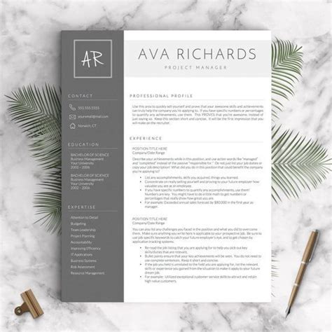 Modern Resume Template Word by 34 Best Creative Resume Templates Images On