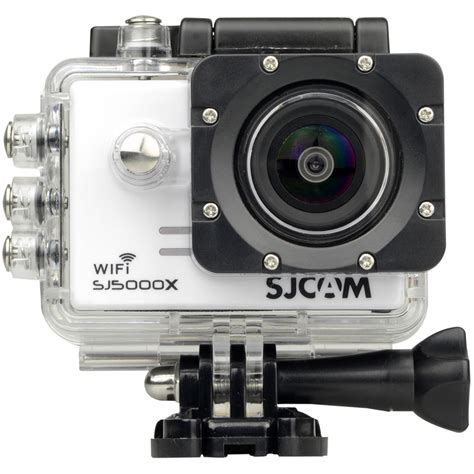 sjcam sj5000x elite 4k white sj5000x w b h photo