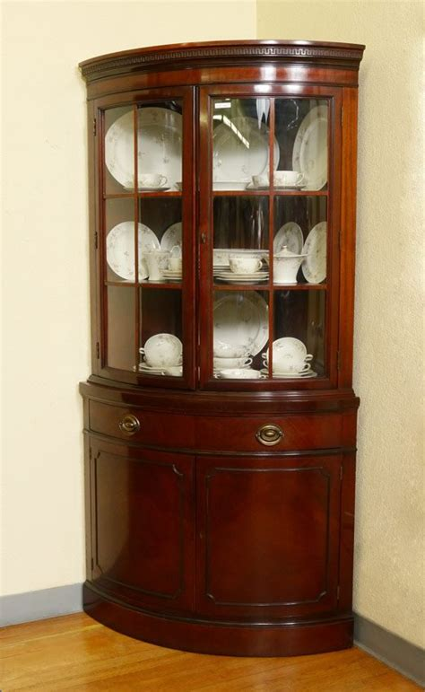 antique corner china cabinet furniture corner china cabinet great idea for window area near