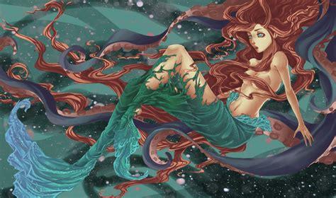 The Transformation Little Mermaid Fan Art