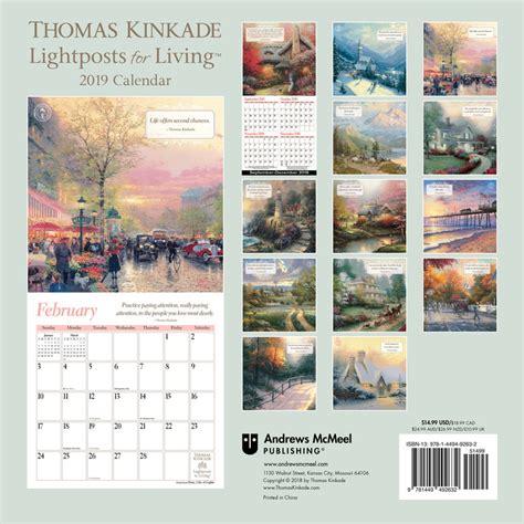 1449492630 thomas kinkade lightposts for living thomas kinkade lightposts for living calendarios 2019