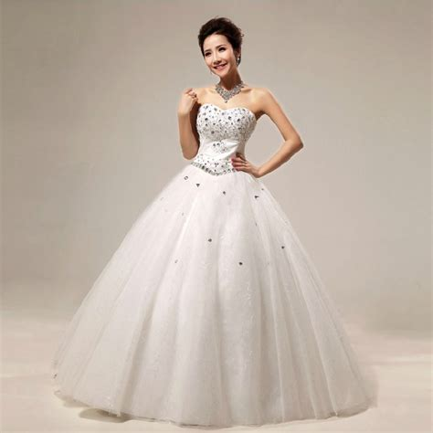 princess wedding dresses with diamonds for luxurious