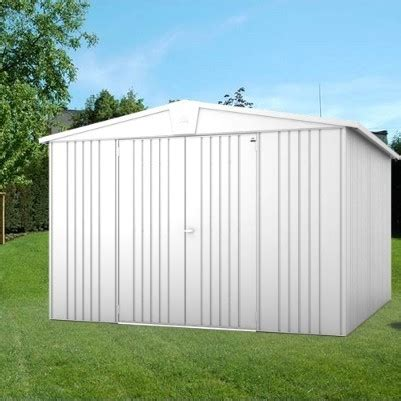 10 X 10 Aluminum Shed by 10 X 10 Heavy Duty Metal Shed