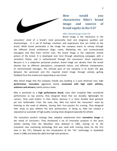 Cover Letter For Nike Internship Brand Managment Nike Building A Global Brand Analysis