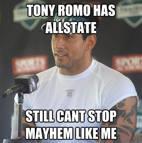 Tony Romo Interception Meme - 82 best images about cowboys suck on pinterest football
