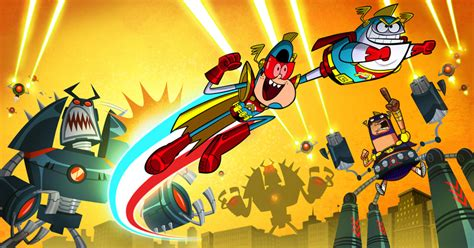 Robot Wall Stickers technicolor s atomic puppet to air on disney xd