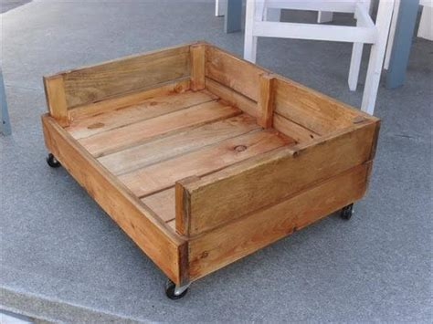 wooden dog beds diy dog bed from pallet wood 99 pallets