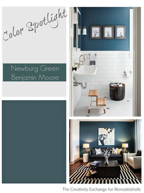 remodelaholic color spotlight benjamin newburg green