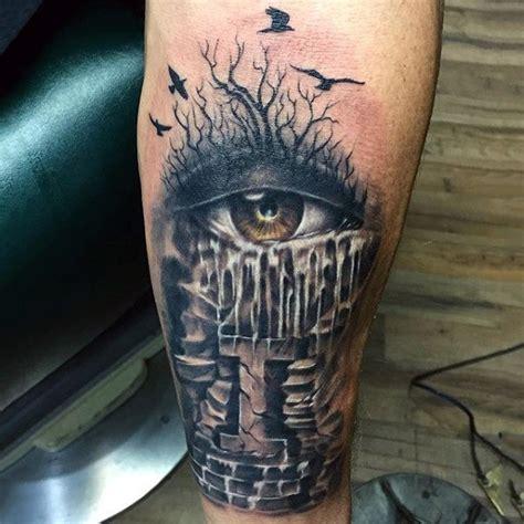 tattoo eyeball guy top 100 eye tattoo designs for men a complex look closer