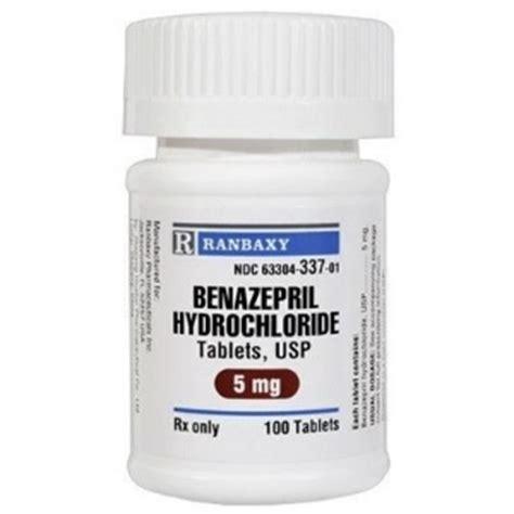 benazepril hcl 5 mg 100 tablets vetdepot com