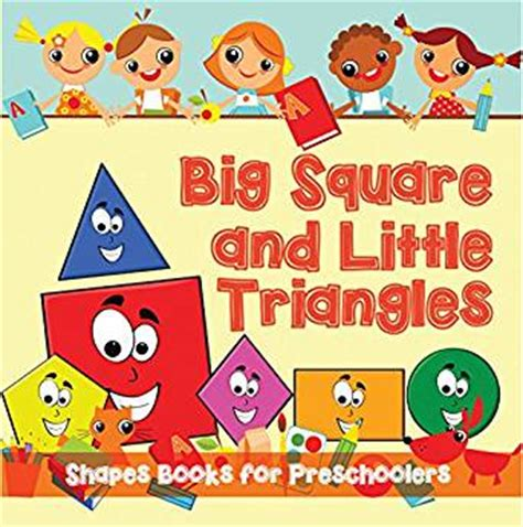 triangles 2 books big squares and triangles shapes books for