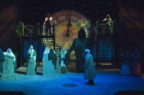 the theatrical designs of gary benson a christmas carol