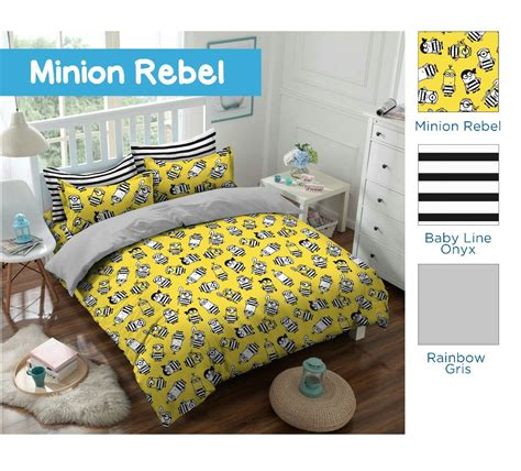 Bed Cover Set Ervin 180 X 200 Tinggi Sprei 40 Cm bintang kecil minion rebel bed cover set