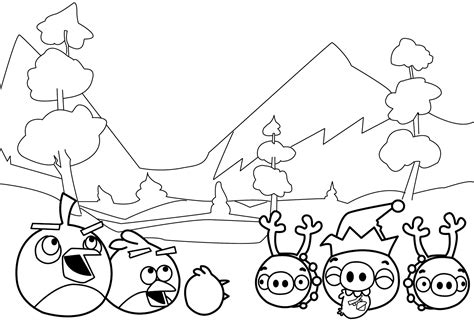 angry birds winter coloring pages winter new angry birds coloring pages coloring page for