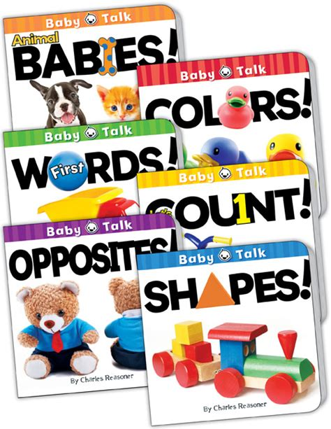 baby four book set books baby talk board book set set of 6 tcr418679 171 products