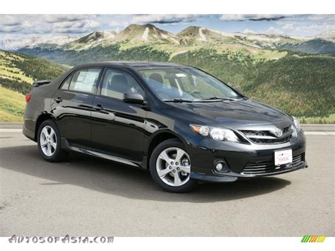 Toyota Of The Black 2011 Toyota Corolla S In Black Sand Pearl 574752 Autos
