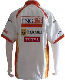 Renault F1 Clothing Msrn7092 Formula 1 F1 Renault White Racing Team Pit Crew