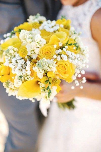 cheerful cape cod summer wedding in 2019 wedding bouquets yellow wedding flowers wedding