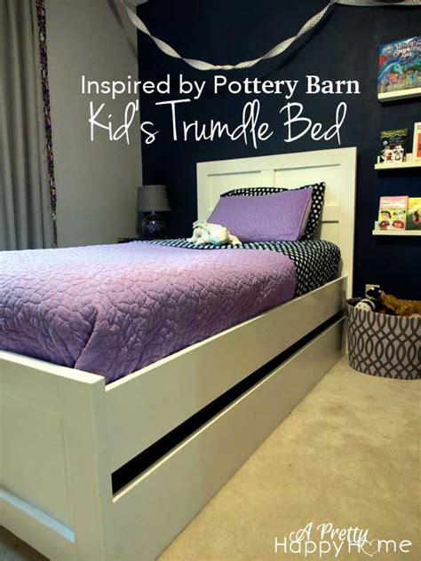 craigslist trundle bed pottery barn trundle bed knock off a pretty happy home