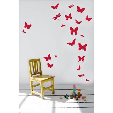 wall stickers butterfly ferm living butterflies wall decal couture d 233 co