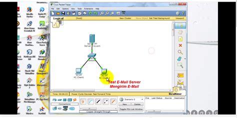 cara konfigurasi dns server di packet tracer cara konfigurasi mail server di cisco packet tracer