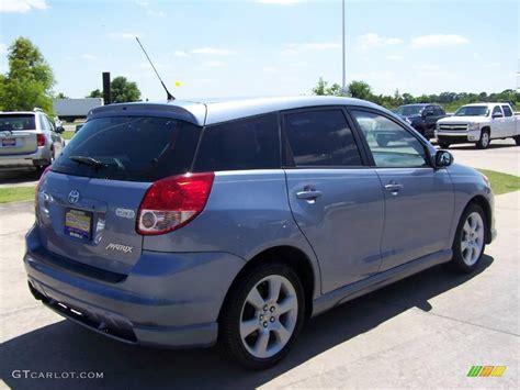 Blue Toyota Matrix 2004 Cosmic Blue Metallic Toyota Matrix Xrs 10145753