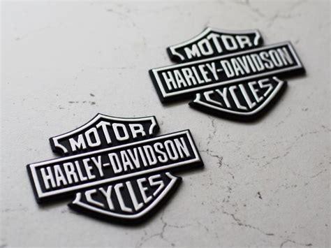 Harley Tank Emblem Aufkleber by 2x 3d Harley Davidson Sticker Tankemblem Logo Silber Matt