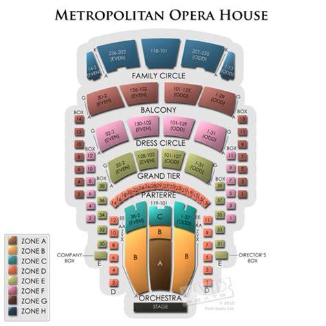 metropolitan opera house seating chart vivid seats