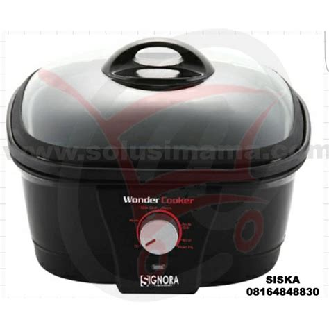 Mixer Signora Pro Master Solusi Cooker