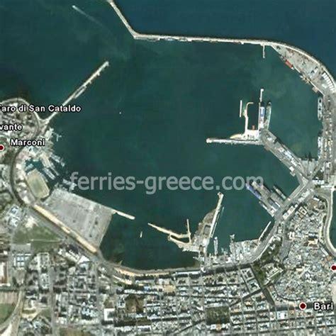 port of bari italy ferries to greece bari ferries