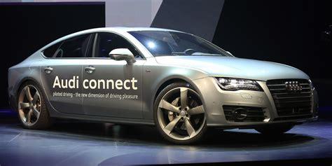 audi self driving car audi unveils self driving concept car a7 autonomous