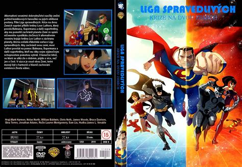 full movie justice league crisis on two earths covers box sk justice league crisis on two earths