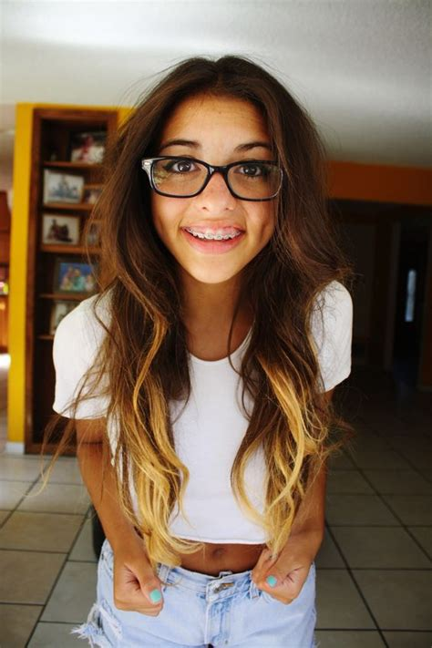 hairstyles for glasses and braces cute braces braceface pinterest posts getting