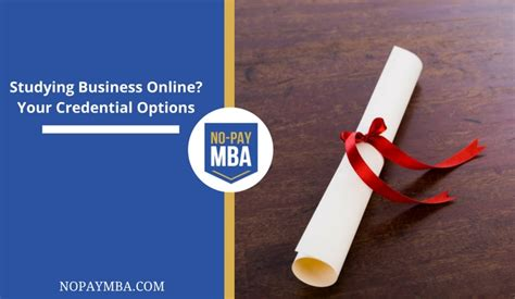 Mba Options by No Pay Mba No Pay Mba