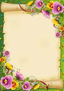 flores e pergaminho caratulas pinterest 193 lbum