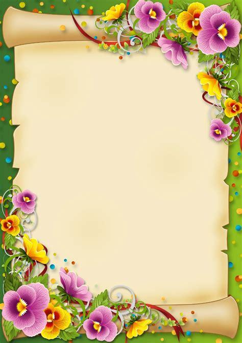 flores e pergaminho k h pinterest stationary clip