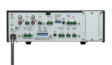 Mixer Toa toa canada bg 2120 cu 120w mixer lifier bg 2120 cu avshop ca canada s pro audio