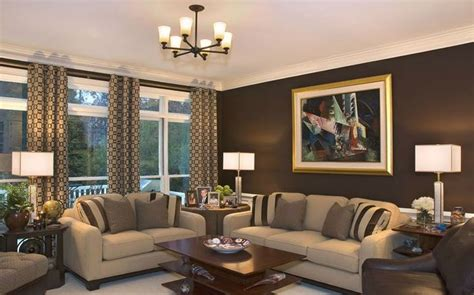 Brown Living Room Walls by Brown Living Room Walls Modern House
