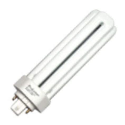 prolume eco shield fluorescent ls halco 44808 triple tube 4 pin base compact fluorescent