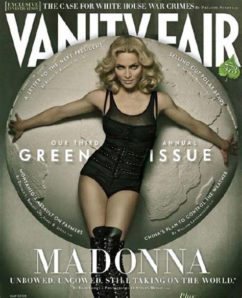 Vanity Fair Magazine Covers by Madonna Takes Cover For Vanity Fair May 2008 Issue