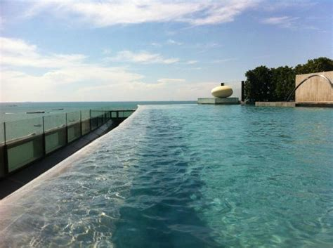 a view from swimming pool   Picture of Hilton Pattaya