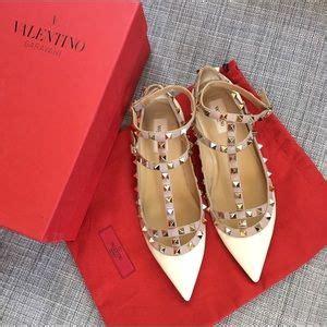 Bnib Valentino Heels 38 valentino shoes bnib valentino rockstud cage flats gray blue from ilse s closet on