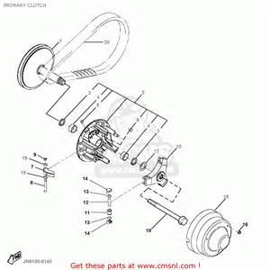 yamaha g16 ap ar 1996 1997 primary clutch schematic