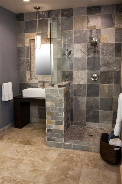 bathroom shower stall tile designs 61 best bathrooms ideas images on pinterest bathroom