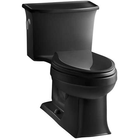black toilet shop kohler archer black black watersense labeled